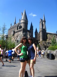 We're both avid Harry Potter fans, and in 2011, we finally went to visit the Wizarding World in Orlando!