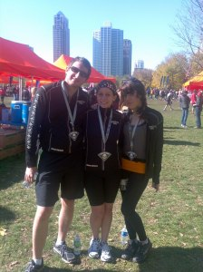 This past October, I ran my first half-marathon with a couple friends in the Chicago Monster Dash!